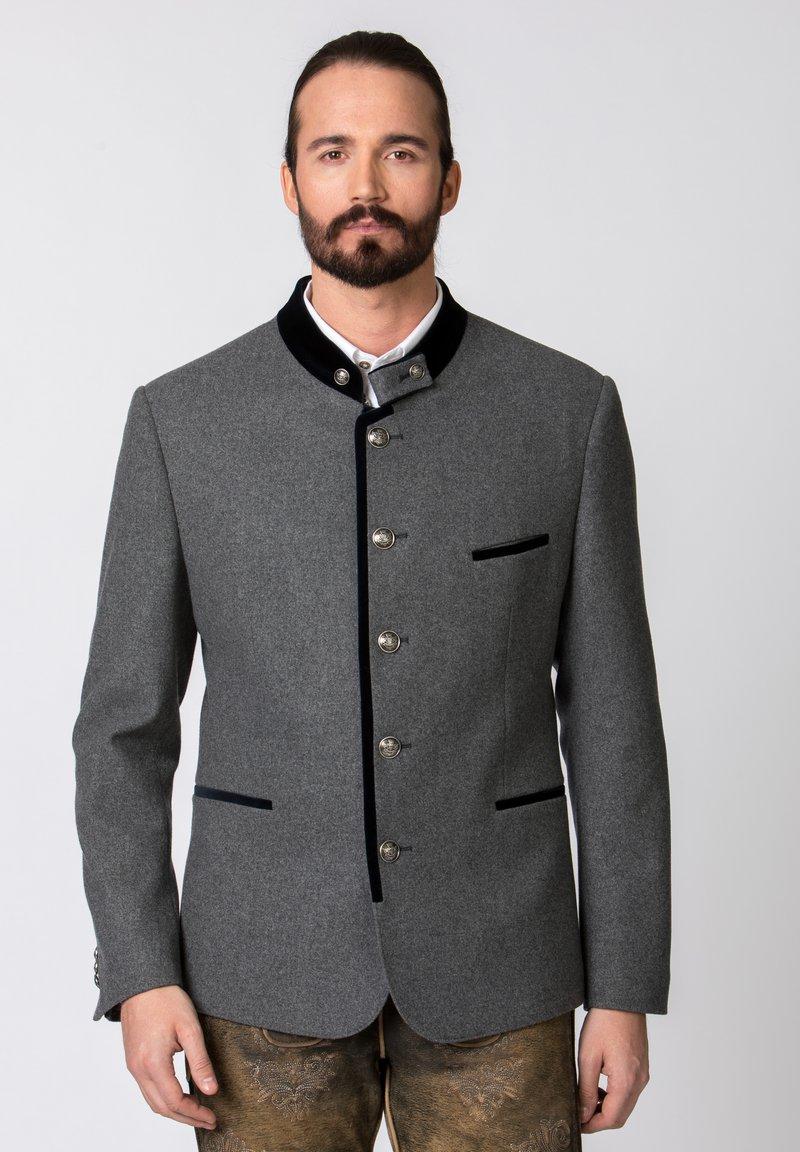 Stockerpoint - QUINTUS - Blazer jacket - stone-night blue