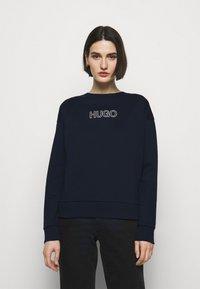 HUGO - NAKIRA - Sweatshirt - open blue - 0