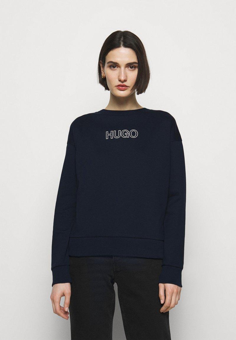 HUGO - NAKIRA - Mikina - open blue