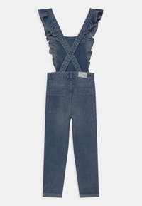 OVS - SALOPETTE WITH RUFFLES - Dungarees - blue - 1