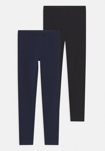 TEEN 2 PACK - Leggings - Trousers - dark sapphire/meteorite