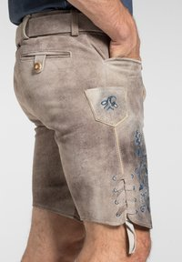 Spieth & Wensky - Leather trousers - light brown - 3