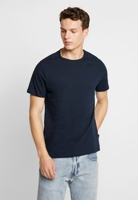 Burton Menswear London - BASIC CREW 5 PACK - T-shirt - bas - white - 4