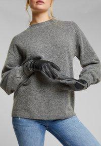 Esprit - Gloves - anthracite - 1
