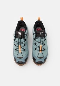 Salomon - CROSS HIKE GTX - Hiking shoes - slate/trooper/almond cream - 3