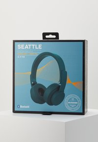 Urbanista - SEATTLE BLUETOOTH - Headphones - blue petroleum - 4