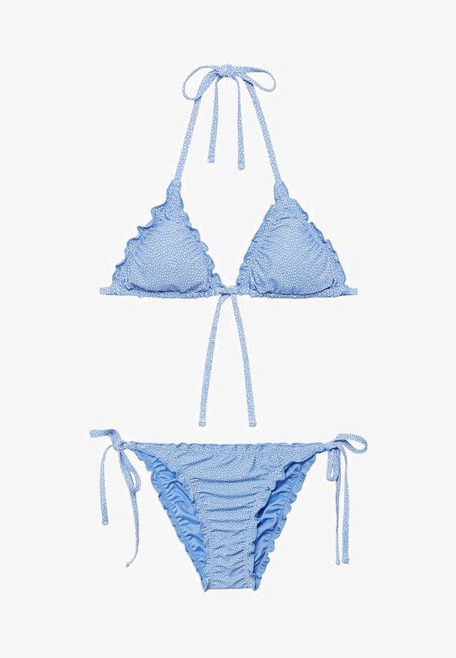 DOTS - Bikini - hemelsblauw