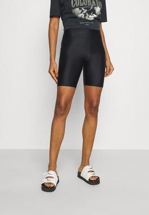 MIA BIKER PANTS - Leggings - black