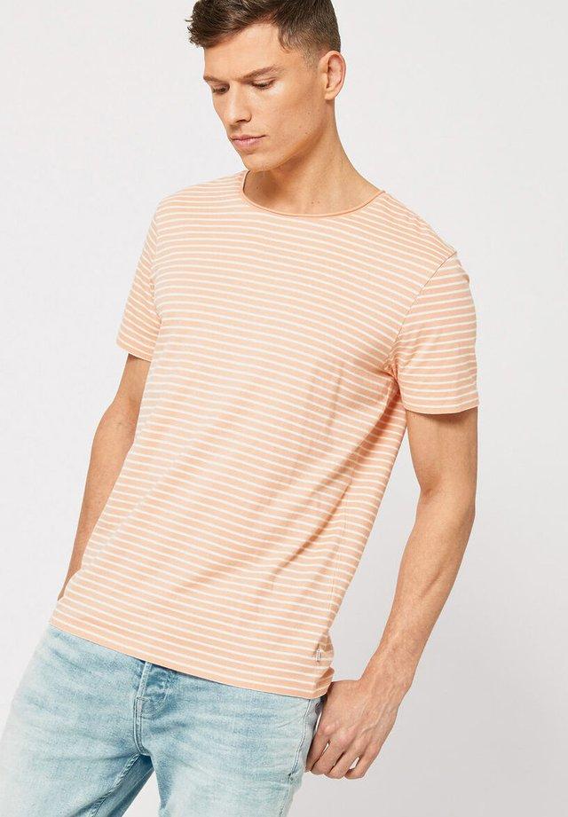 TOOK - T-shirt basic - salmon