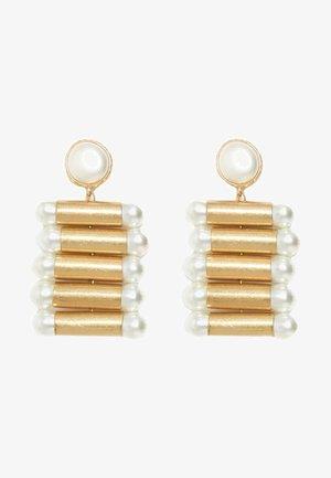 RÖHRENFÖRMIGE  - Earrings - gold