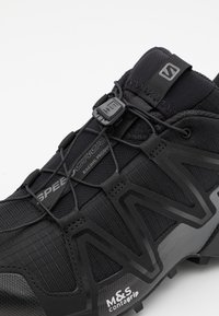 Salomon - SPEEDCROSS 3 UNISEX - Sneakersy niskie - black/quiet shade - 7