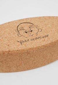 Yogasearcher - OVAL YOGA BLOCK - Fitness/jóga - natural - 2