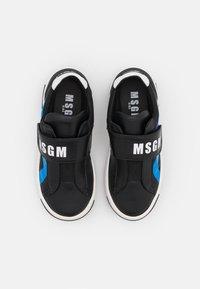 MSGM - UNISEX - Trainers - black/blue - 3