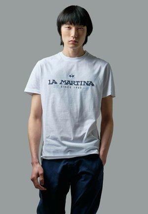 RANDAL - T-shirt print - optic white