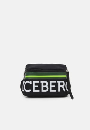 BUM BAG UNISEX - Across body bag - black