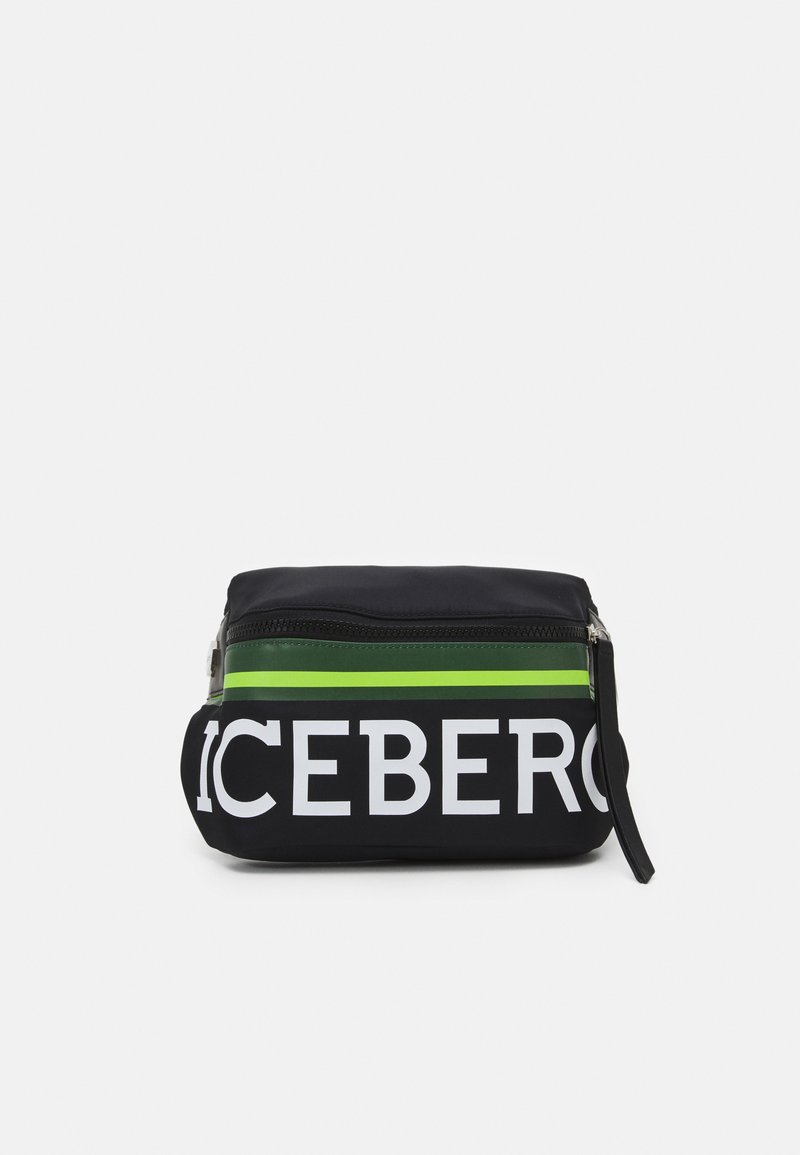 Iceberg - BUM BAG UNISEX - Across body bag - black
