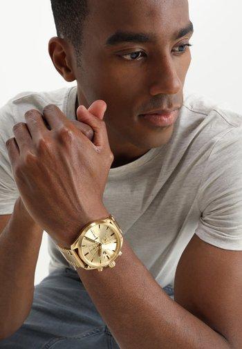 MS9 CHRONO - Chronograph watch - gold-coloured