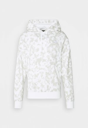 CLUB HOODIE CAMO - Sweatshirt - summit white/white