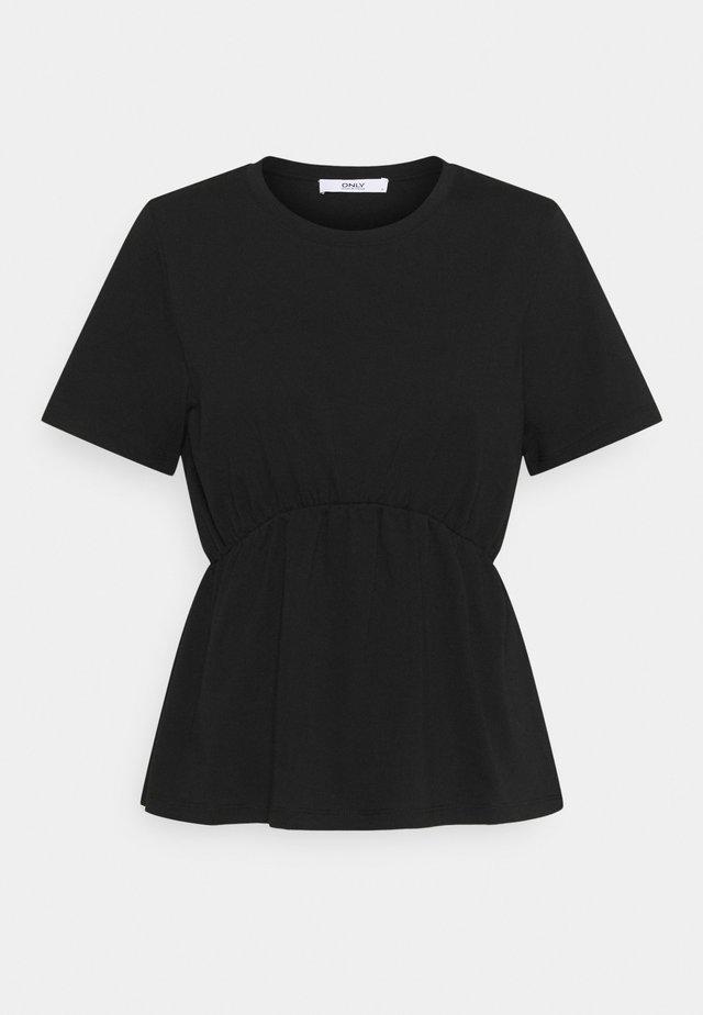ONLANDRE DETAIL - T-shirt imprimé - black
