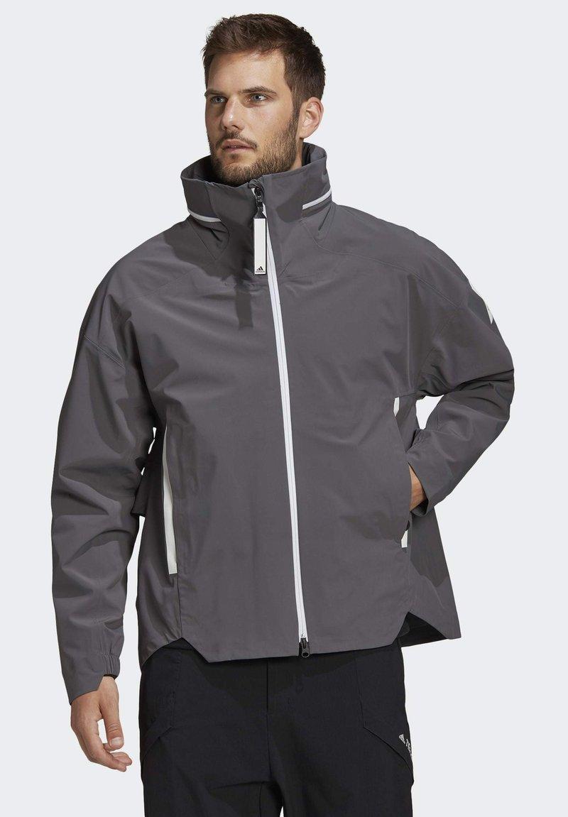adidas Performance - MYSHELTER URBAN RAIN.RDY OUTDOOR - Outdoor jacket - grey