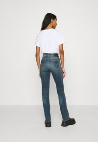 G-Star - NOXER STRAIGHT - Straight leg jeans - antic faded baum blue - 2