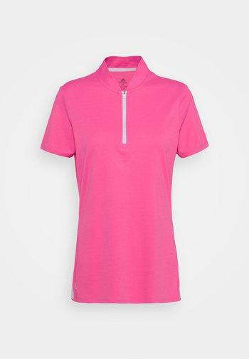 HEAT.RDY ZIP SHORT SLEEVE - Print T-shirt - screaming pink