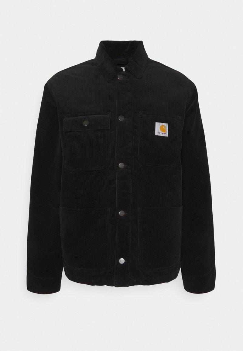 Carhartt WIP - MICHIGAN COAT - Light jacket - black rinsed