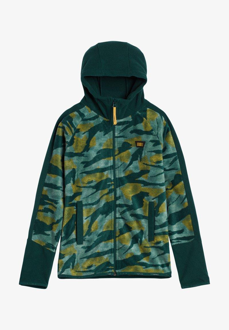 O'Neill - Fleece jacket - green aop