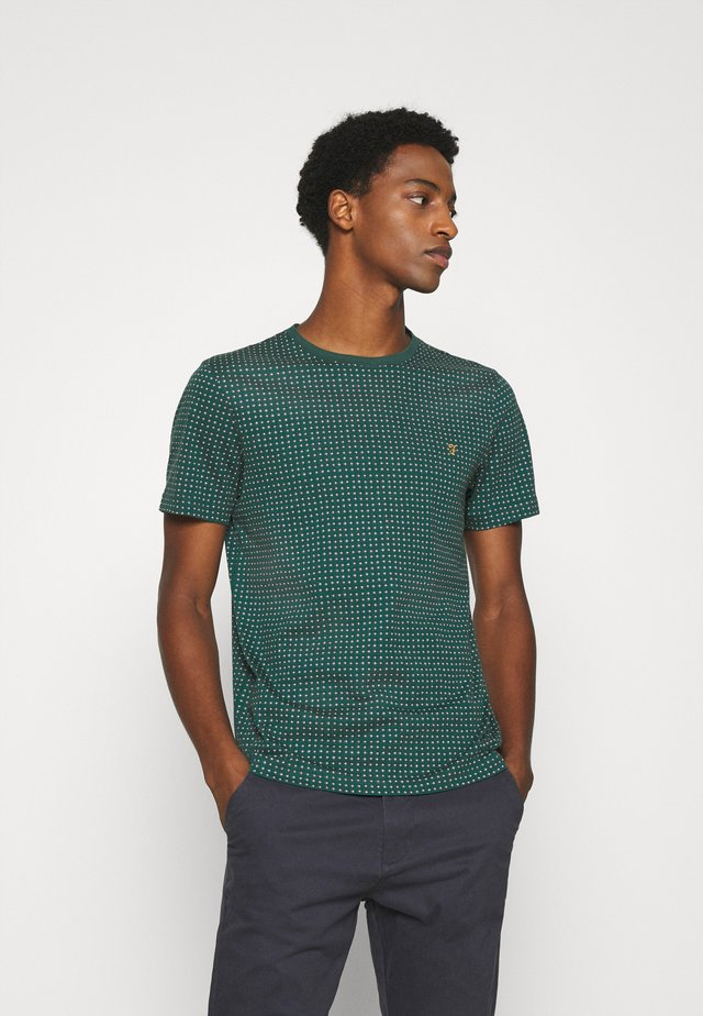 HOLBROOKS TEE - T-shirt con stampa - emerald green