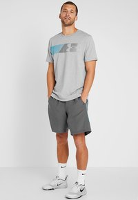 Under Armour - FAST LEFT CHEST 2.0  - Print T-shirt - steel light heather - 1