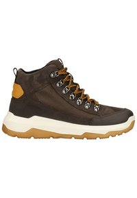 Superfit - Lace-up ankle boots - braun/gelb - 6