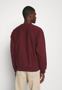 Carhartt WIP - AMERICAN SCRIPT - Sweatshirt - bordeaux - 2