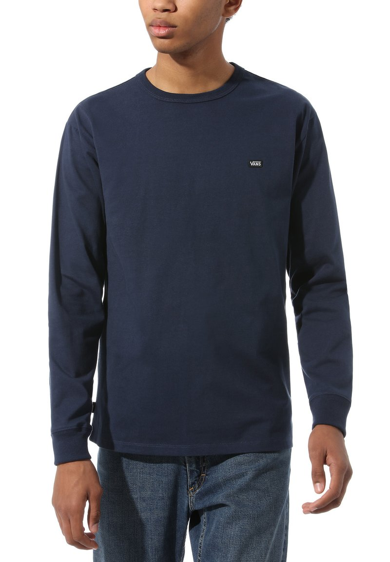 Vans - MN OFF THE WALL CLASSIC LS - Long sleeved top - dress blues