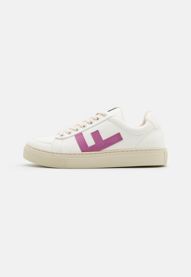 VEGAN CLASSIC 70'S KICKS - Sneakers basse - white/fucsia/grey