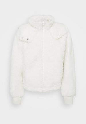 DRAMA CURLY - Fleece jacket - white