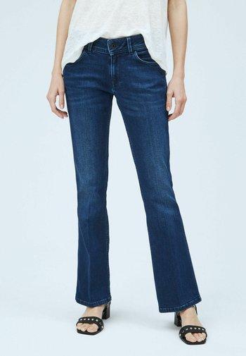 NEW PIMLICO - Flared Jeans - denim