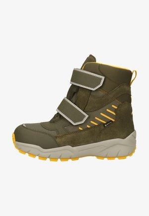 Winter boots - grün/gelb 7000