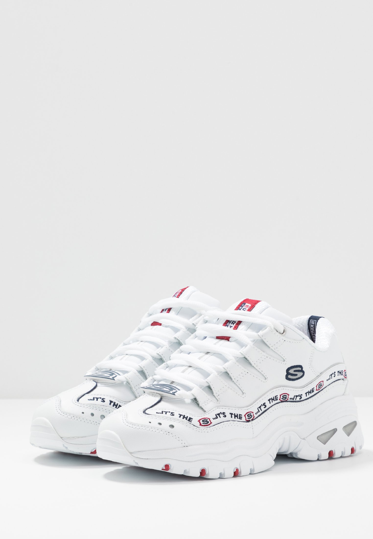 Skechers Sport CLEATS Joggesko white Zalando.no