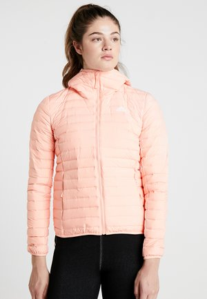 VARILITY SOFT HOODED OUTDOOR DOWN JACKET - Winter jacket - glow pink
