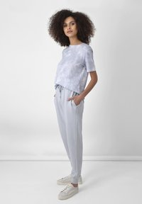 Ro&Zo - Print T-shirt - grey - 1