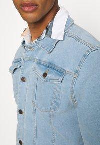 Denim Project - KASH JACKET - Giacca di jeans - sky blue - 5
