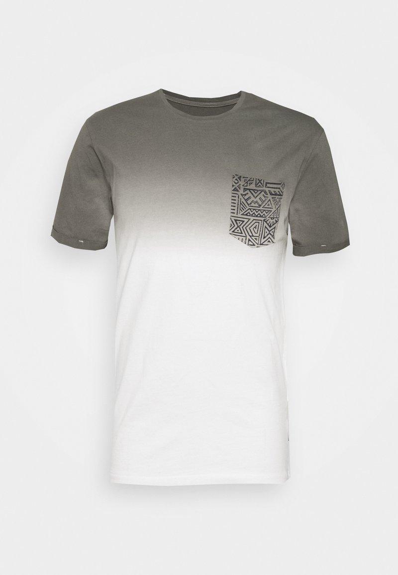 Pier One - Printtipaita - white/grey