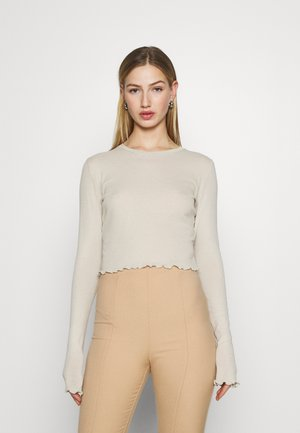 SENA LONG SLEEVE - Topper langermet - beige