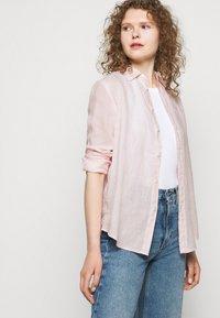 Polo Ralph Lauren - PIECE DYE - Button-down blouse - hint of pink - 5