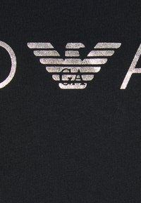 Emporio Armani - MAXI T-SHIRT - Camicia da notte - nero - 4