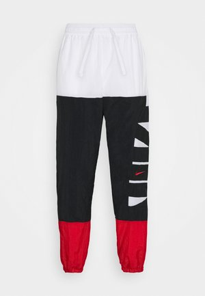 STARTING PANT - Pantaloni sportivi - white/black/university red