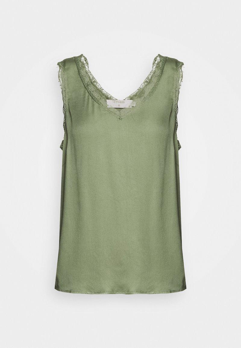 Cream - ALENA - Blouse - oil green