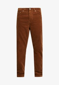 Carhartt WIP - NEWEL - Trousers - hamilton brown rinsed - 4