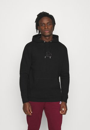 MAZO - Sweat à capuche - black