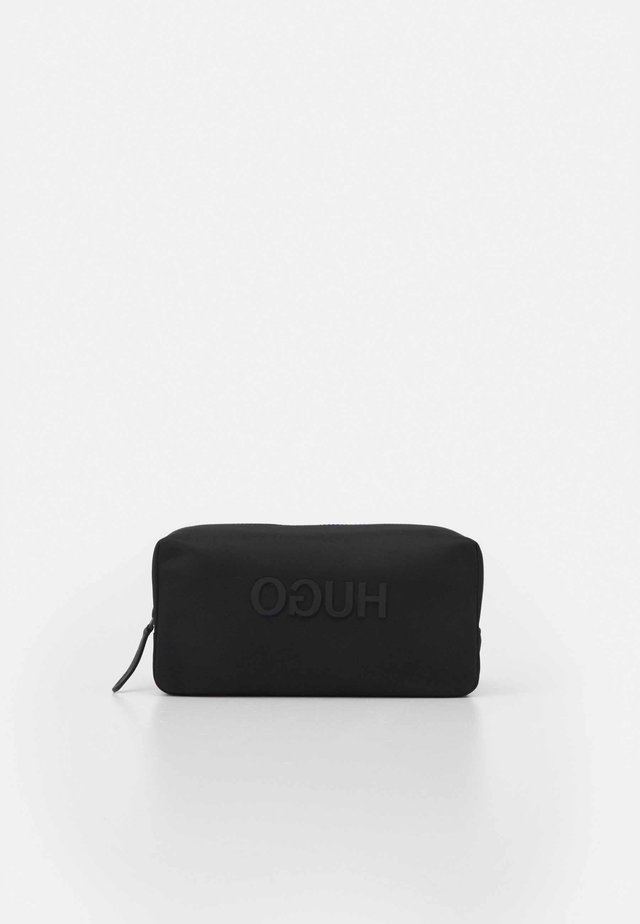RECORD WASHBAG UNISEX - Wash bag - black